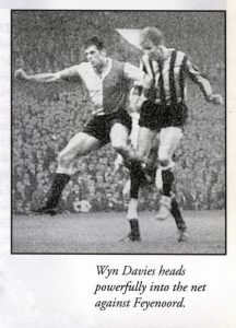 Newcastle United-Feyenoord 11-9-1968